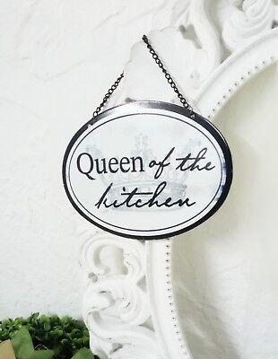 Küche Queen (Schild Blechschild Küche Queen of the Kitchen Nostalgie Shabby Vintage Landhaus )