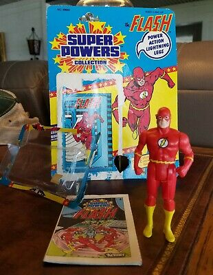 Vintage Kenner DC Comics Super Powers Collection Flash Action Figure