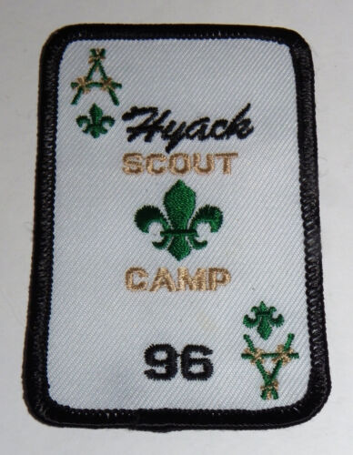 HYACK SCOUT CAMP 96 Patch • Canadian Scout Camp • New Embroidered