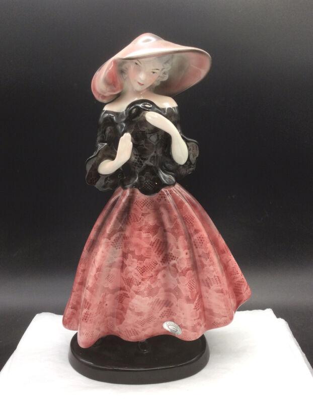 Goldscheider Everlast USA 632 Lady Black Top Pink Dress Mask Sticker Deco