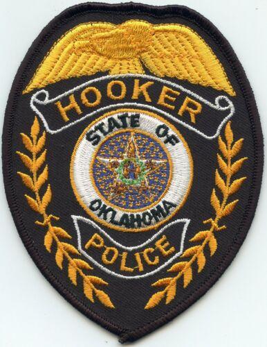 HOOKER OKLAHOMA OK POLICE PATCH