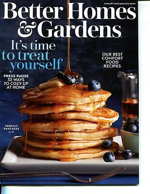 Better Homes & Gardens Magazine January 2018 - Our Best Comfort Food