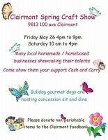 Clairmont Spring Craft Show
