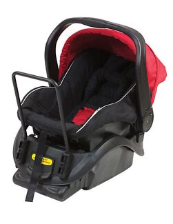 Steelcraft Cruiser Carrier Baby Car Capsule Red