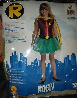Child's Girls DC Comics Batman Justice League Robin Tutu Costume - Batman And Robin Tutu Costumes