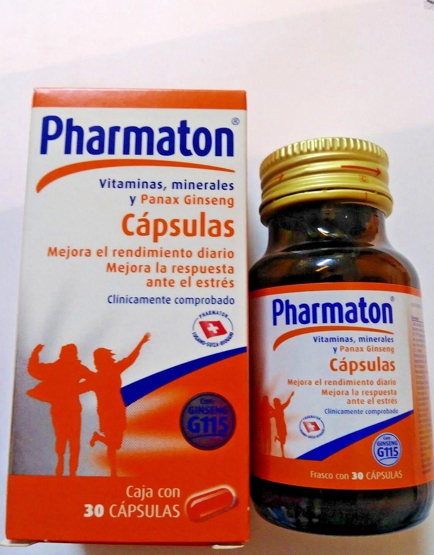 Pharmaton with ginseng G115 30 capsules/Pharmaton con ginseng G115 30 cápsulas 4