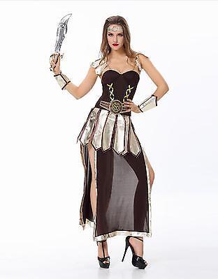 New Sexy Women Sparta Roman Warrior Princess Girl Xena Costume Cosplay Halloween](Xena Halloween Costumes)
