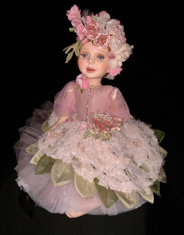 Katherine's Collection - Secret Garden Flower Girl Doll - Spring - 28-728456
