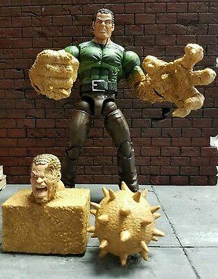 Marvel Legends Sandman BAF Build a Figure Action Figure  spider-man