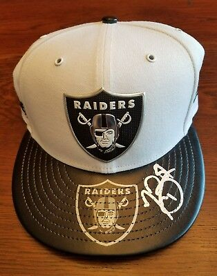 TIM BROWN Signed Football New Era Hat JSA Certified Oakland Raiders Auto HOF