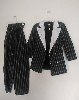 Small Adult HALLOWEEN Pants & Jacket Costume Pair By Amy - FREE SHIPPING