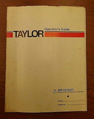 Taylor Forklift Operators Guide Thc-400l