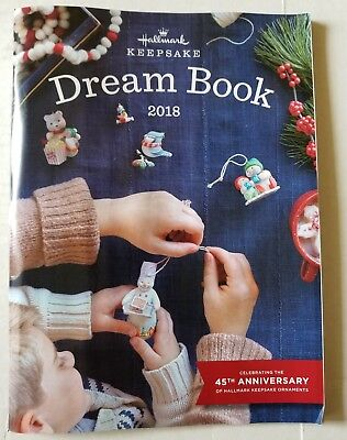 HALLMARK KEEPSAKE DREAMBOOK 2018 (Ornaments) NEW