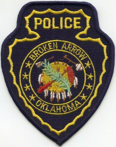 BROKEN ARROW OKLAHOMA OK POLICE PATCH