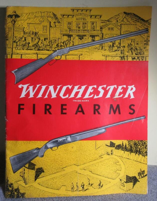 Vintage WINCHESTER 1955 FIREARMS CATALOG
