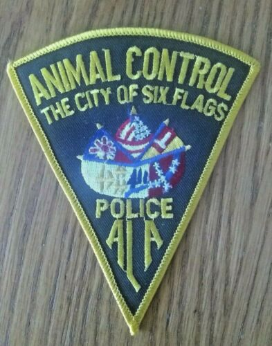 ANIMAL CONTROL POLICE-THE CITY OF SIX FLAGS ALABAMA SHOULDER PATCH