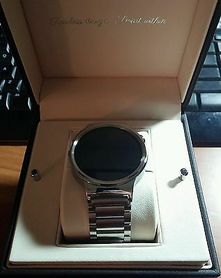 Huawei Watch Stainless Steel with Stainless Steel Link Band
