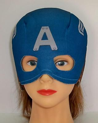 CHILD CAPTAIN AMERICA MARVEL WINTER SOLDIER SOFT MASK COSTUME RU620006