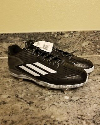 separation shoes 22bac b945f Adidas Mens Size 12.5 Cleats Baseball Poweralley 3 Shoes METAL S84762