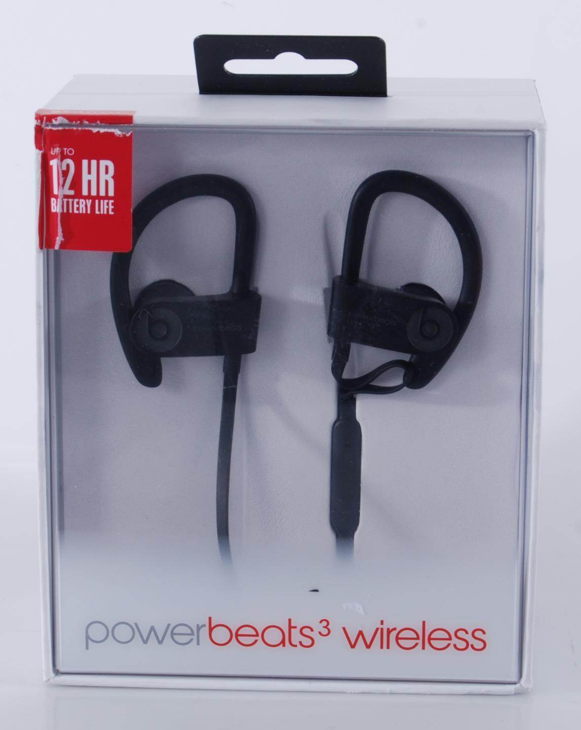 Beats By Dre - Beats by Dr. Dre Powerbeats 3 Bluetooth Earphones Inline Control Noise Isolation