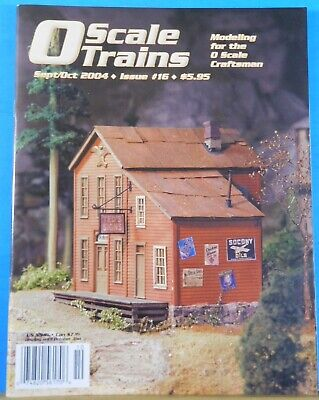 O Scale Trains #16 2004 September October Building the Depot at Early Winters for sale  Shipping to United Kingdom