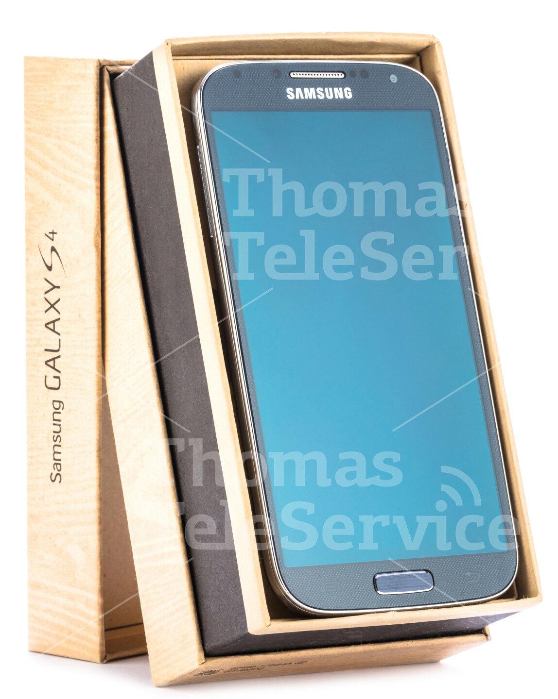 Samsung Galaxy S4 i9505 Black Mist Schwarz Smartphone Handy Android Neu OVP