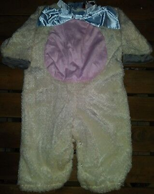 Little Baby Lamb Halloween Costume Size Large 18 Months - 2T One Piece