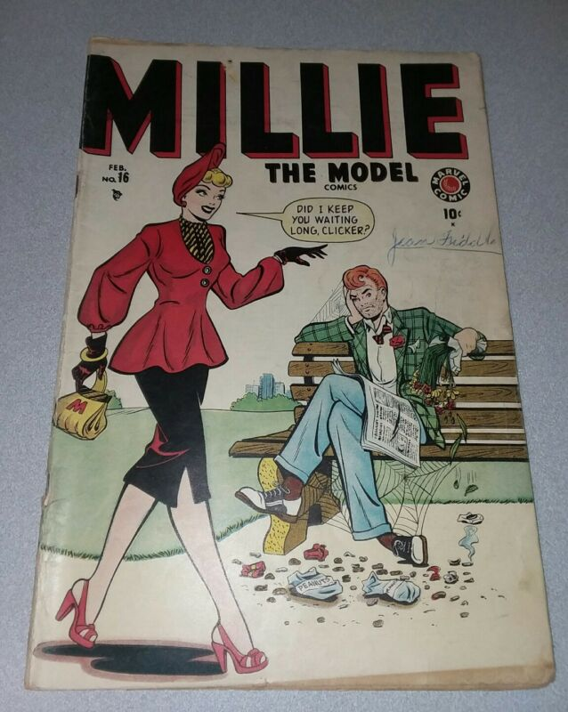 MILLIE #16 the model 1946 Timely Marvel comics GOLDEN AGE Pre Code SCARCE  gga!