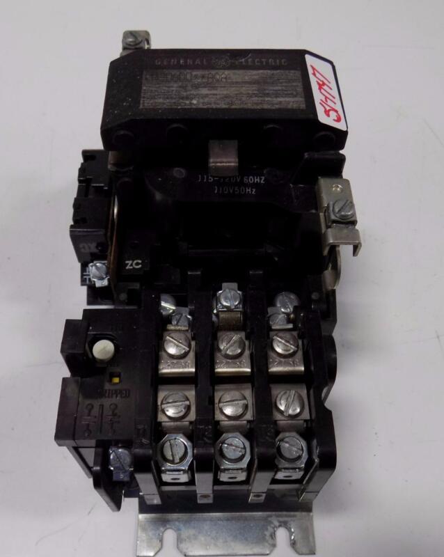 GENERAL ELECTRIC MOTOR STARTER CR306D0**AQA