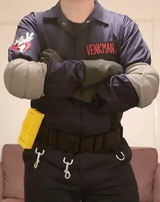 Ghostbusters 2 Costume Overalls - premium deluxe uniform - navy blue coveralls - Navy Blue Costume