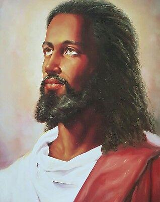AFRICAN AMERICAN ART & PRINTS-Black Jesus I (16 x 20 New Unframed)