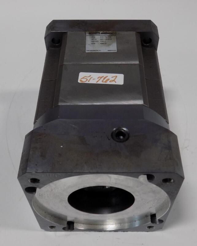 PARKER BAYSIDE SERVO GEAR DRIVE SPEED REDUCER PX115-100 / MX115-100