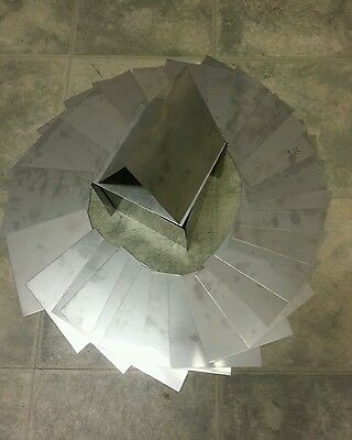 Stainless Steel 304 8 Pieces 24 Gage 2 X 2 Plate Flat Metal Sheet Tig Welding