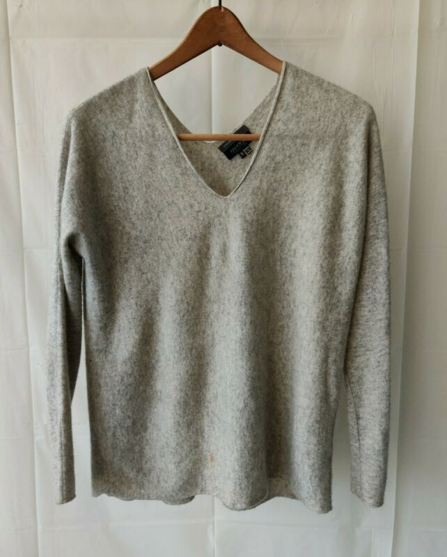 Vince x A Pea In The Pod Collection Sweater  Gray 100% Cashmere Women