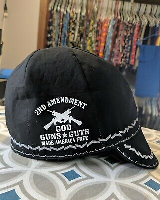 Wendys Welding Hat Made With 2nd Amendment Application New