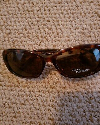 Ladies Daisy Fuentes RX Ready sunglasses Brown NWT