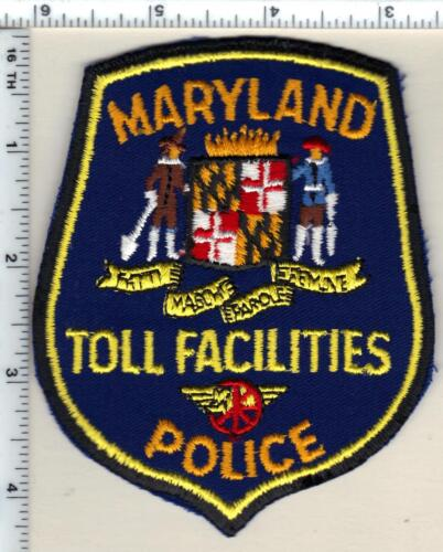 Toll Facilities Police (Maryland) Shoulder Patch - new 1980