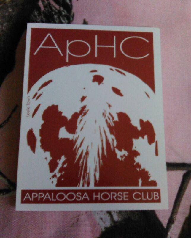 Appaloosa Horse Club Sticker - New - ApHC