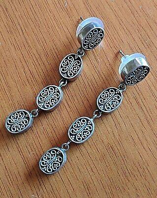 Beautiful Long Metal Earrings - Gift Ideas