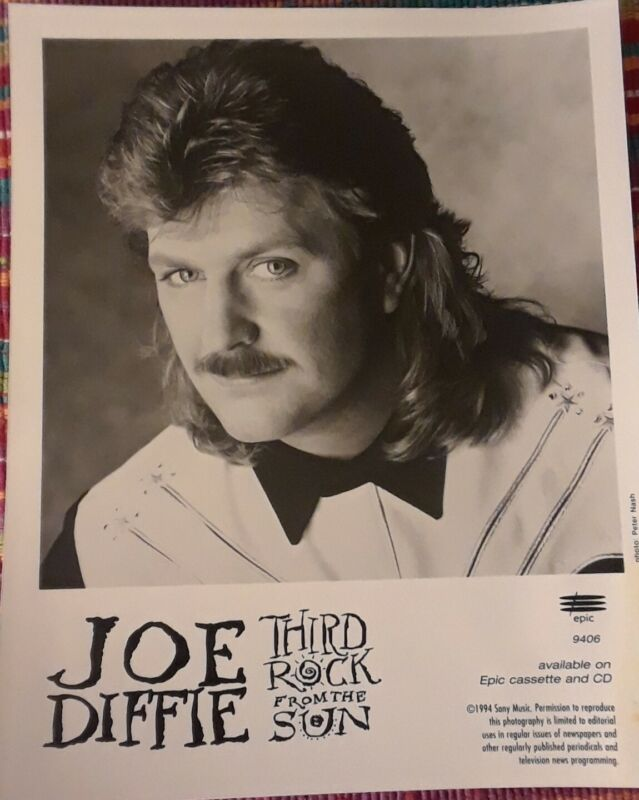 Joe Diffie Promo Photo 3rd Rock From The Sun 1994 (R.I.P.)