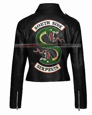 Riverdale Jacket Southside Serpents Jughead Jones Sprouse Leather Jacket Womens
