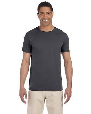 Gildan Mens T-Shirt Short Sleeves Light Weight 4.5 oz Softst