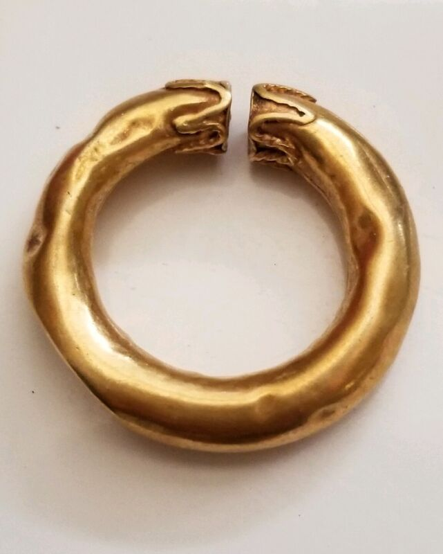 Ancient Celtic Ring Money. Gold 800-400BC