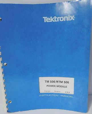 Tektronix Tm 506rtm 506 Power Module Instruction Manual Free Priority Shipping