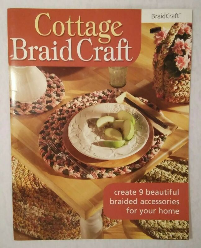 Cottage Braid Craft ~ create 9 braided accessories - Coasters Placemats Rugs