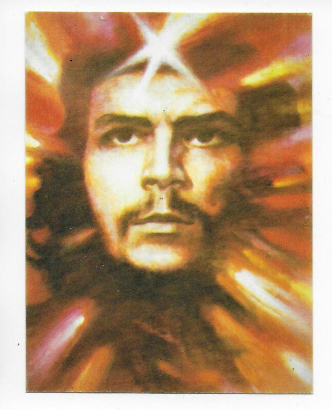 QSL Radio Cuba Habana 1989 Calendar Che Ernesto Guevara DX SWL