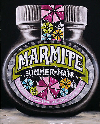 "MARMITE Giclee PRINT Of an Original Oil Painting Canvas Still Life 10""x8"""