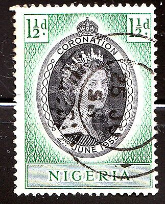 Nigeria 1953,Queen Elizabeth II Coronation Issue Cancelled for sale  Shipping to India