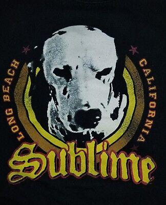 SMALL Sublime t-shirt: Lou Dog Long Beach California punk rock vintage California Dog T-shirt