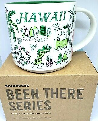 14oz Mug Starbucks HAWAII Exclusive Been There Series2018/2019Coffee Cup NIB